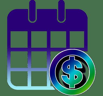 $ and Calendar